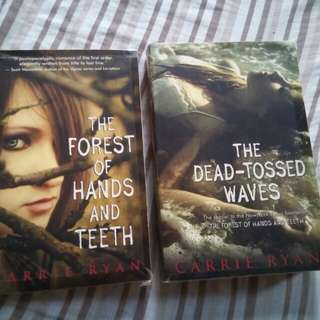 (2books for 275) The Forest of Hands and Teeth by Carrie Ryan