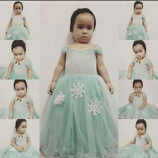 Princess Gown frozen theme