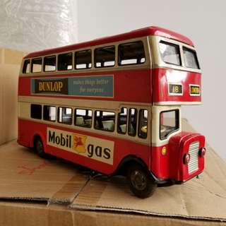 Metal toy bus