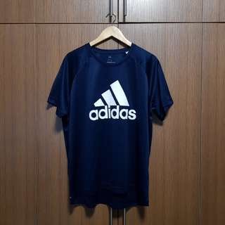 Adidas Climalite Three Stripes Tee