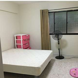 Common Room For Rent. WIFI and Utilities Included. 15 mins bus ride to Ang Mo Kio MRT. No AC.