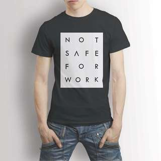 NSFW T-Shirt not safe for works 9gag edition