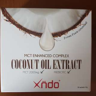 XNDO Coconut Oil Extract (Brand New; Sealed)
