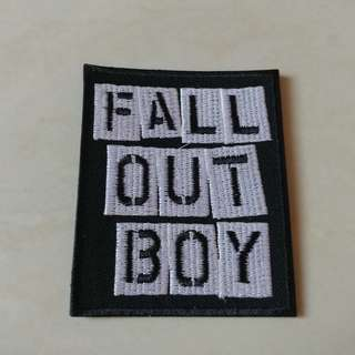 Fall Out Boy - Fall Out Boy Woven Patch Band Merch