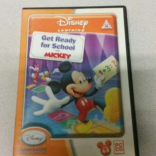 Get Ready for School with Mickey