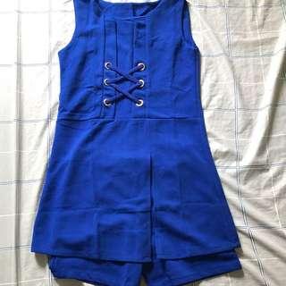 Ladies dress +shorts 1 set