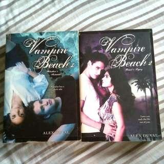 (2books for 275) Vampire Beach 1&2 by Alex Duval
