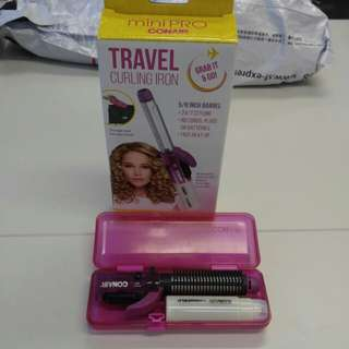 Conair cordless travel curling iron