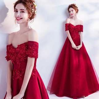 2018 spring new arrival evening gown