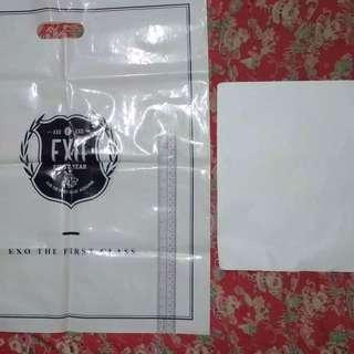 Official EXO First Class Plastic Bag