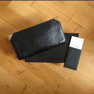 100% real Alexander Wang long wallet 長銀包