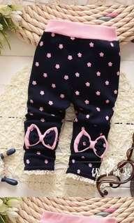 Baby Girls Long pants velvet warm spring winter