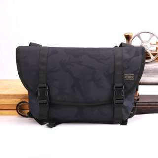 86f3d1174c6b Small Navy Dark Camo HEAD PORTER Yoshida Messenger Sling Shoulder Bag