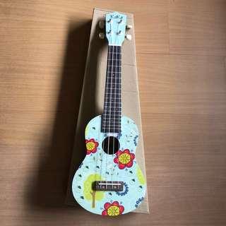 [ KAKA Brand ] Special design wooden Ukulele 21 inch Soprano Ukulele with Bag