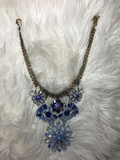 Blueish necklace