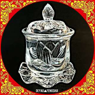 ▲BN Beautiful Lotus Flower Offering Holy Water Cup▲