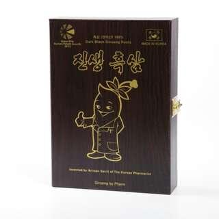 韓國真生黑蔘 - 黑蔘根171克 (木盒裝)