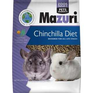 Mazuri Chinchilla Diet
