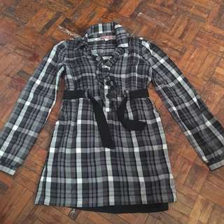 Juicy Couture Plaid Dress