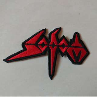 Sodom - Logo Shaped Woven Patch Band Merch