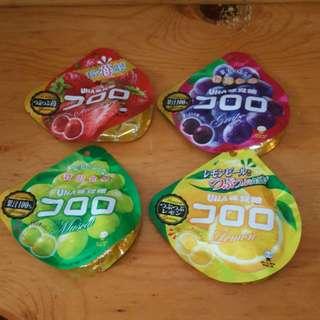 【$32/4包】UHA 味覺糖 軟糖(好juicy呀~)