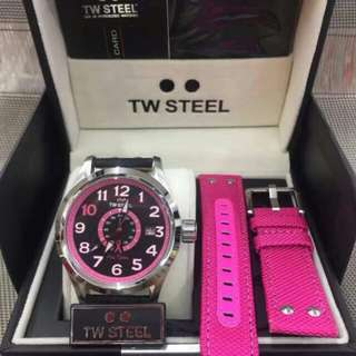 TW Steel Watch (Pink Edition)