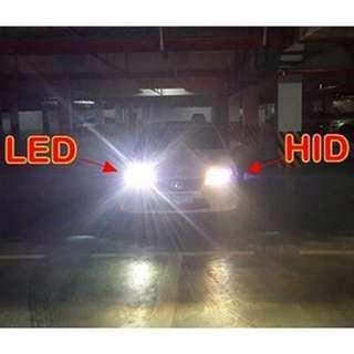 H7 LED 7000k 12v 100w 2000ml