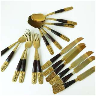 Almost Antique 1960s Cutlery Set