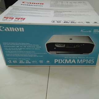 BNIB Canon Pixma MP145 All in one photo printer