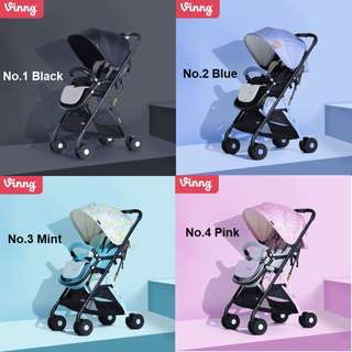 Ultra-light baby pram/stroller suitable for 0-36 mths, 5.8kg only