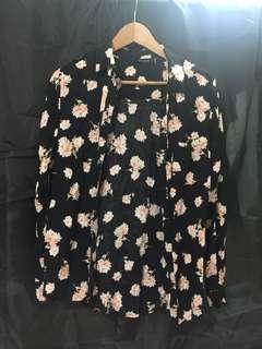 Butterfly print shirt
