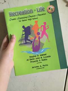 Recreational for Life (UST BOOK)