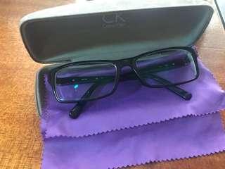 Original Calvin Klein Black Eyeglass Frame