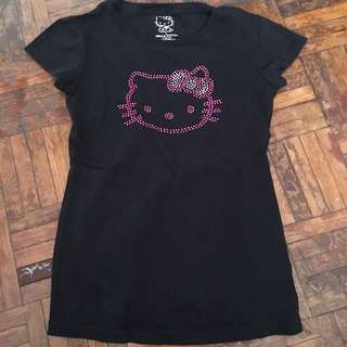 Hello Kitty black shirt