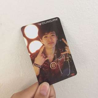 GOT7 Youngjae Got It Official Photocard