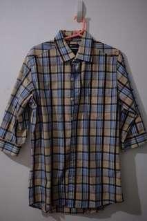 (Used) Memo 3/4 Checkered Shirt