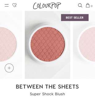 Colourpop Super Shock Cheek (Color: Between The Sheets)