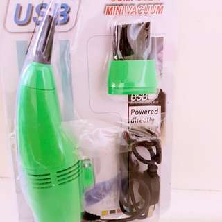 USB vacuum for keyboard