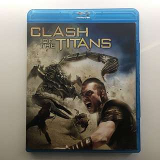 Clash of the Titans Bluray