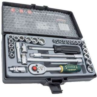 """31Pc 1/4""""Dr. Socket Set (S&M) (Made In Taiwan)No:2312"""