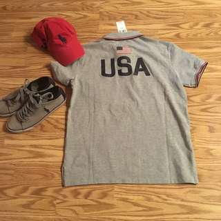 🔥💯👕🔥🇺🇸 BNWT Authentic polo ralph Lauren usa 🇺🇸 olympic shirt