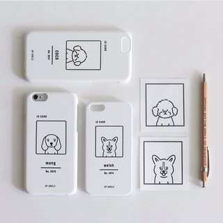 定制名字 狗狗 iphone case 手機殼🐾