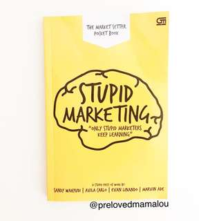 Stupid Marketing Book
