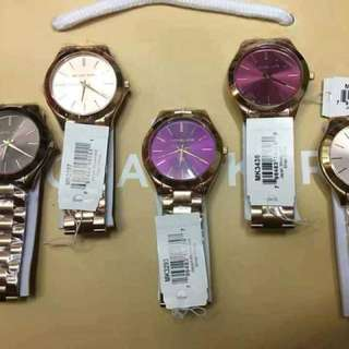 MK Slim Watches