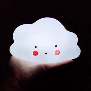 Portable Cloud LED night light lamp