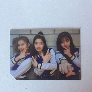 Twice Kpop Cheer up Photocard