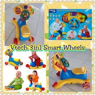 Vtech 3 in 1 smart wheels