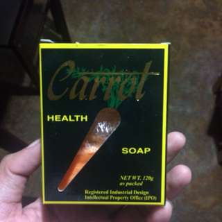 Carrot Herbal Soap