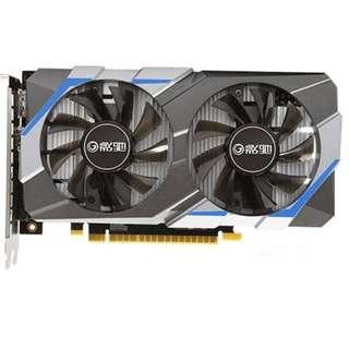 (二手) 95%NEW Galaxy影馳GeForce GTX 1050虎將 2GB DDR5