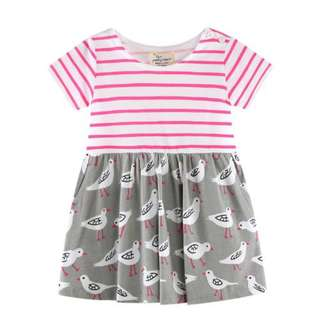 2Y - 6Y Girl's Casual Dress
